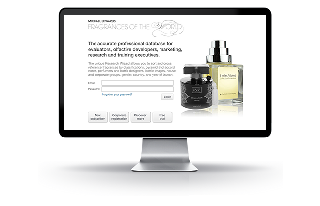 APTUS Cloud Technology web development - Fragrance finder